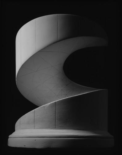 """Hellicoid Minimal Surface"" by Hiroshi Sugimoto"